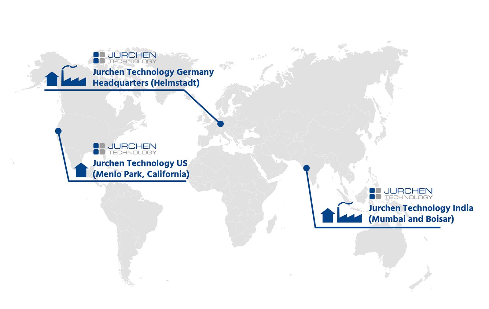 Jurchen Technology Solar Worldmap