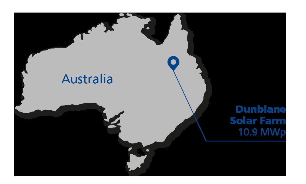 Solar map Australia