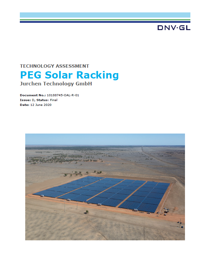 Bankability Report Solar Power Plant PEG