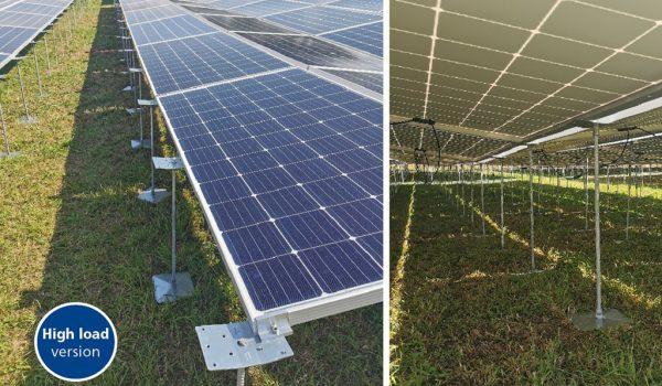 PEG solar plant, high load version