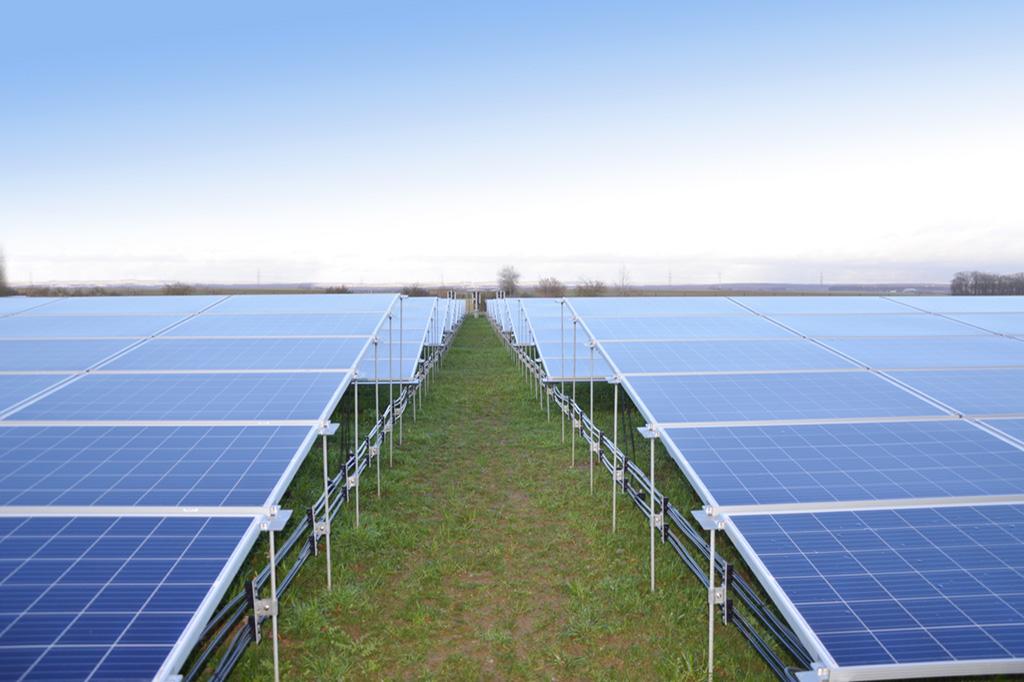 PEG solar plant Kolitzheim, Germany