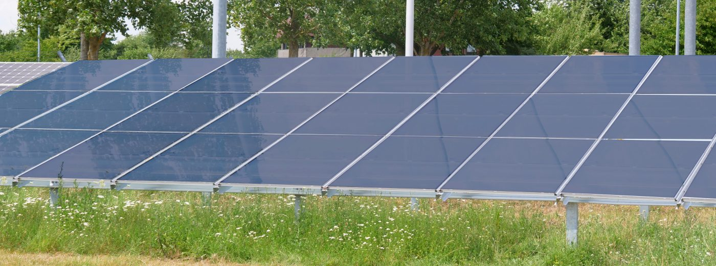 smartFLAP PV substructure for solar power plants