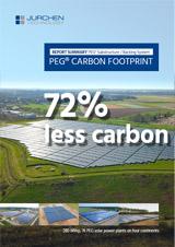 Carbon footprint Solar Substructure PEG