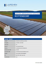 Solar power plant PEG SD in Rottendorf, Germany