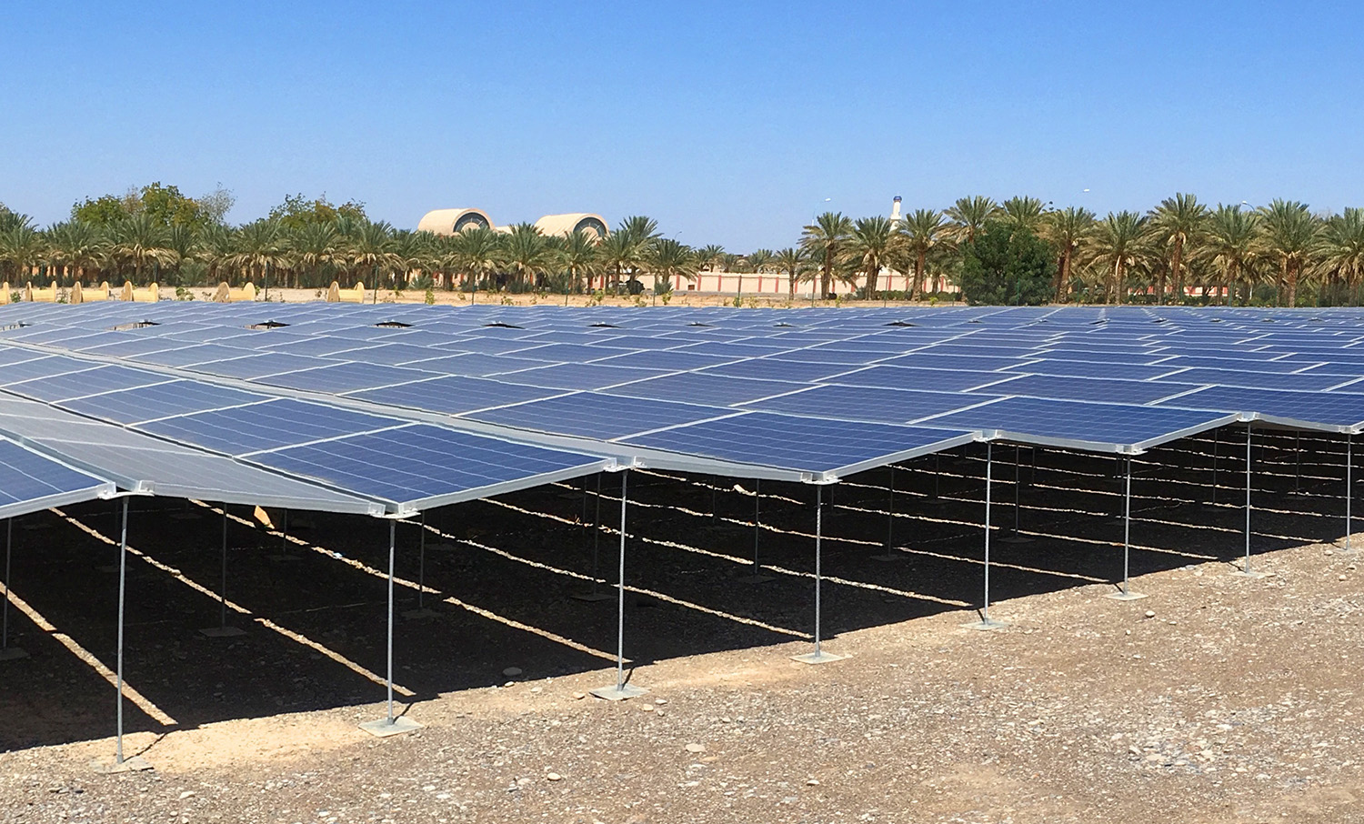 Design of Mounting System for Solar Power Plants