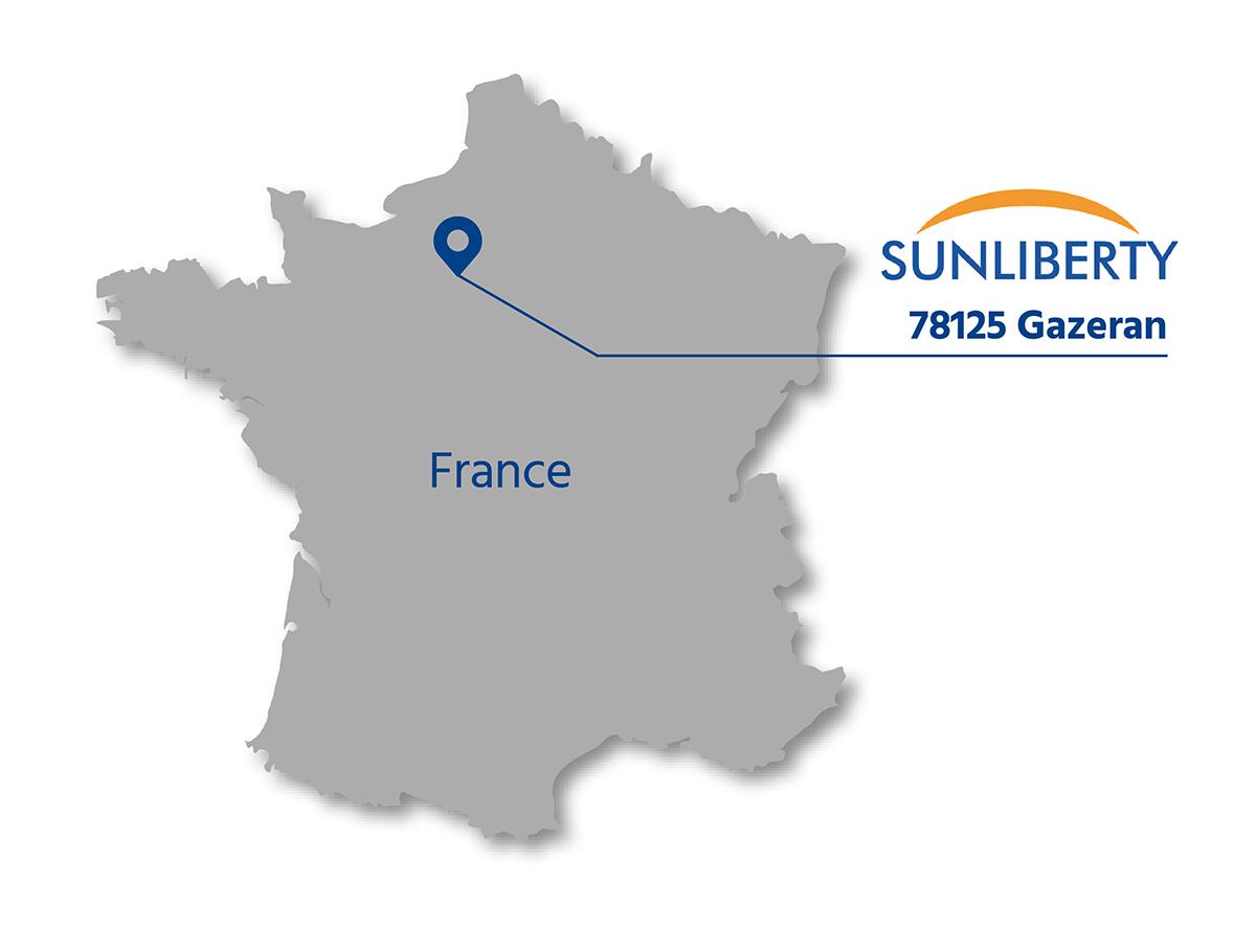 SUNLIBERTY in France